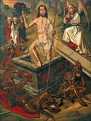 Bartolome Bermejo - Resurrection